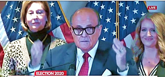 SlantRight 2.0: TRUMP LEGAL: Giuliani and Powell lay out latest voter 'cheating' and irregularities