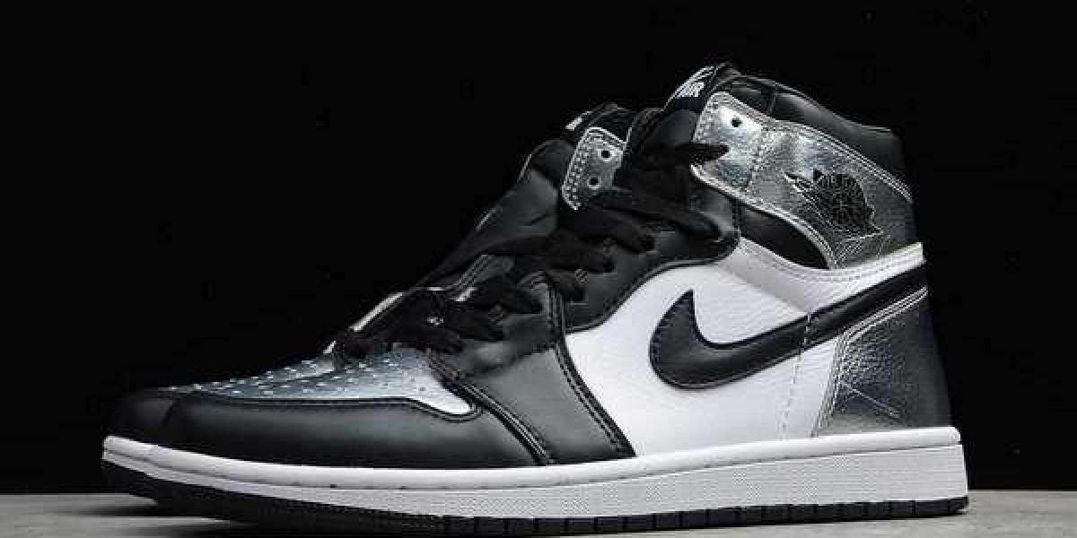 """Air Jordan 1 High OG """"Silver Toe"""" CD0461-001 2021  Hot Sell"""