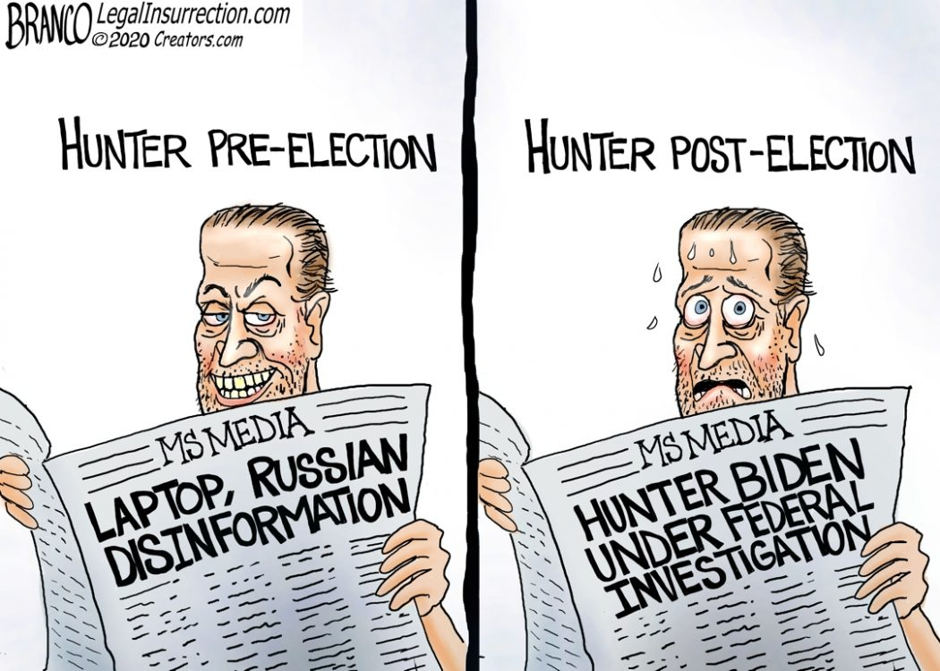 Cartoon of the Day: There's Hunter ⋆ Conservative Firing Line