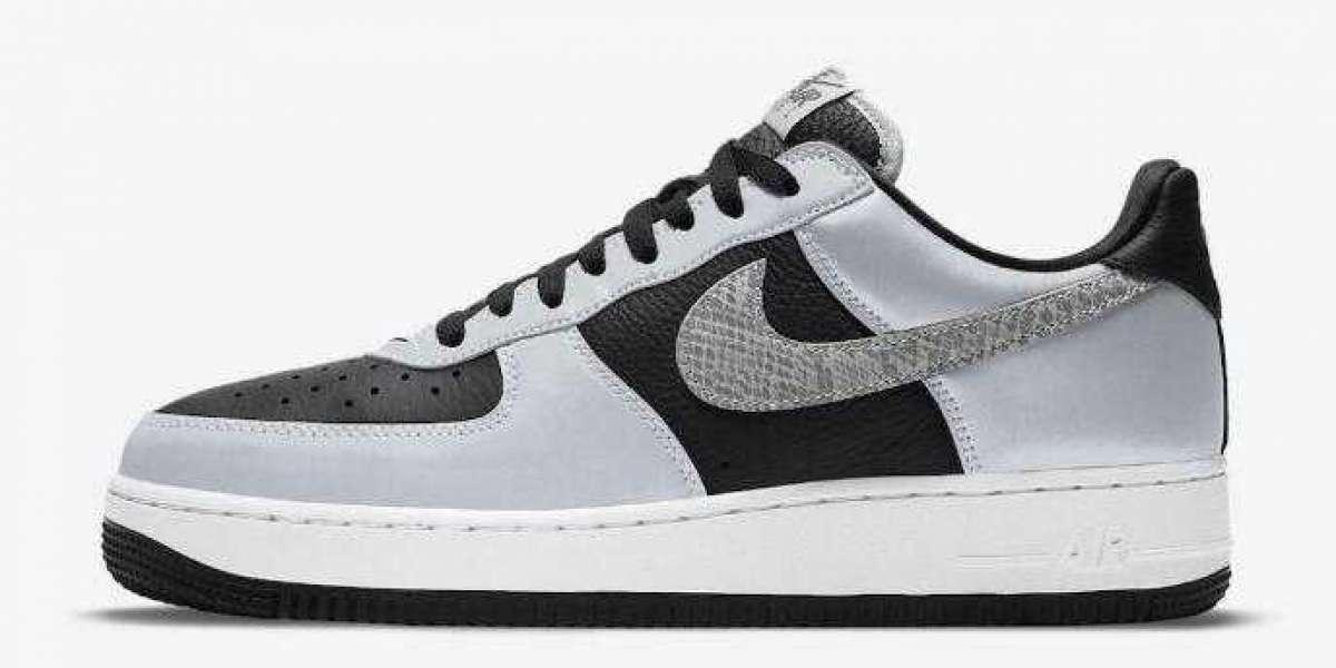 2001 Nike Air Force 1 B 3M Snake is Best Walking Sneakers