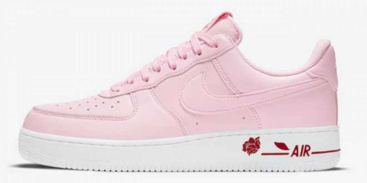 "Nike Wmns Air Force 1 Low ""Pink Rose"" 2021 New Arrival CU6312-600"