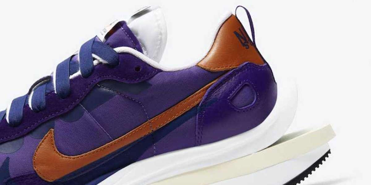 "Sacai x Nike VaporWaffle ""Dark Iris"" 2021 DD1875-500 New Released"