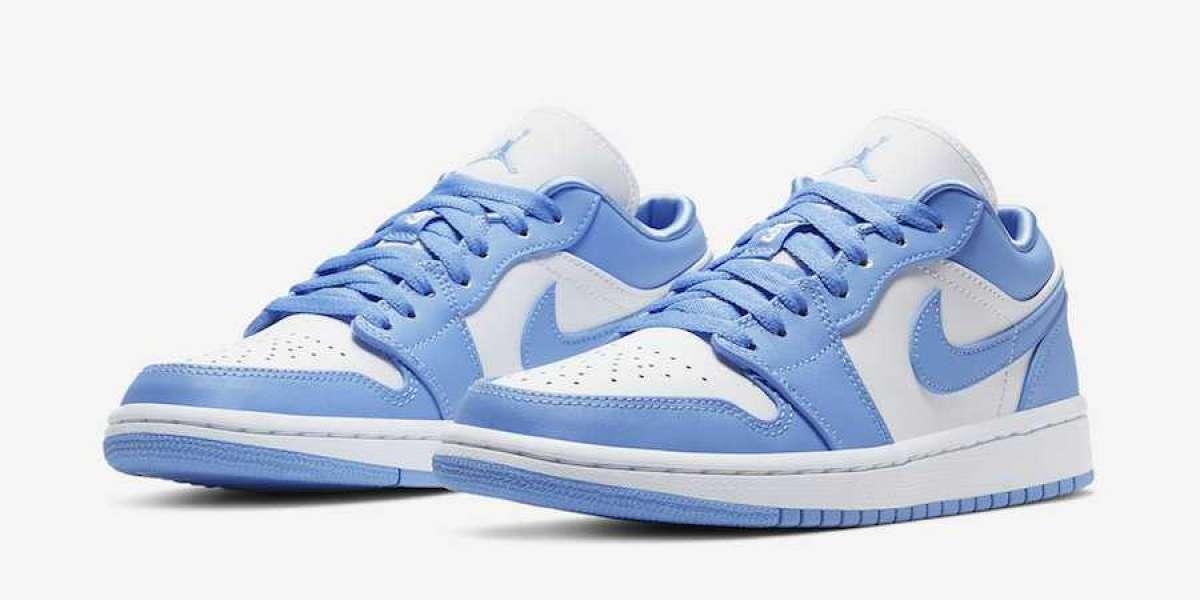 """Hot Sale Nike Air Jordan 1 Low """"UNC"""" AO9944-441"""