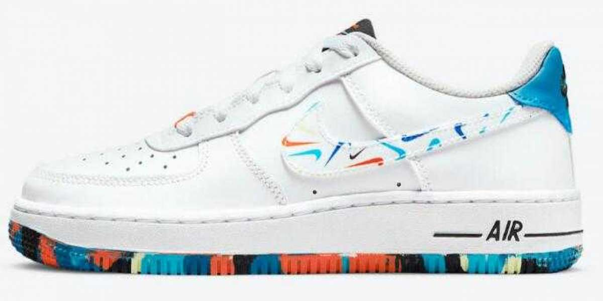 Latest Nike Air Force 1 Low For Kids with New Colorful