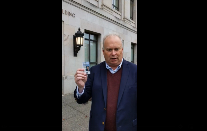 Rep Jim Walsh, Washington State Rep: Legislators Locked Out of Their Offices ⋆ Conservative Firing Line